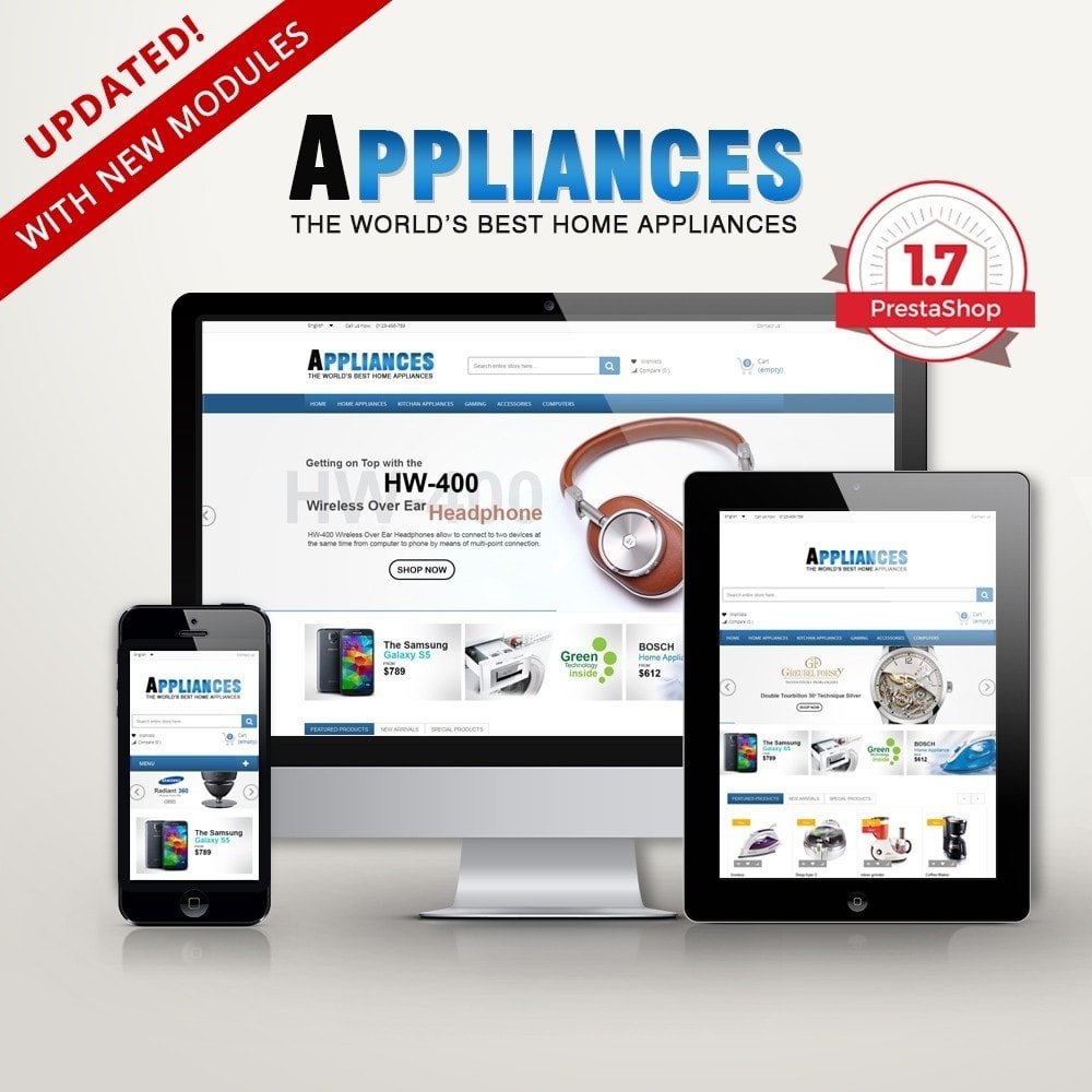 theme - Eletrônicos & High Tech - Home Appliances Premium - 1