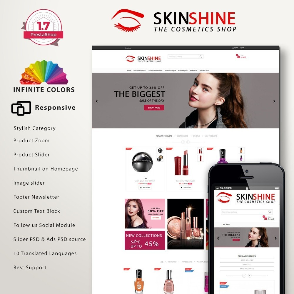Skinshine cosmetic premium GB110