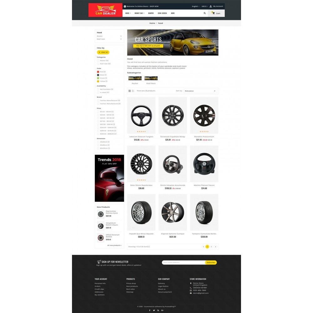 theme - Carros & Motos - Auto Parts & Dealer - 3