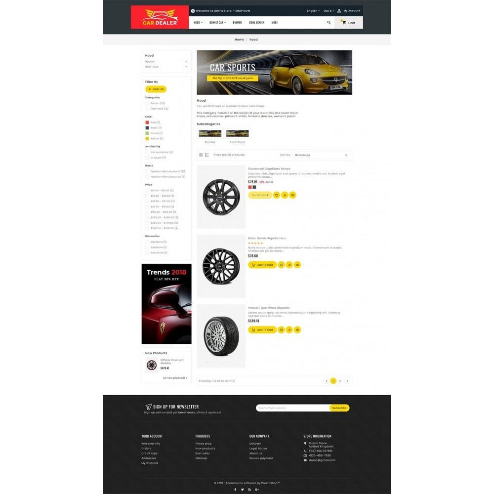theme - Carros & Motos - Auto Parts & Dealer - 4