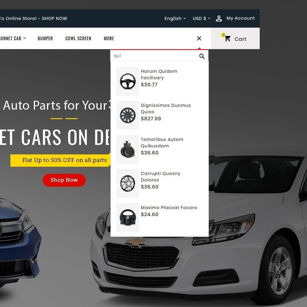 theme - Automotive & Cars - Auto Parts & Dealer - 9