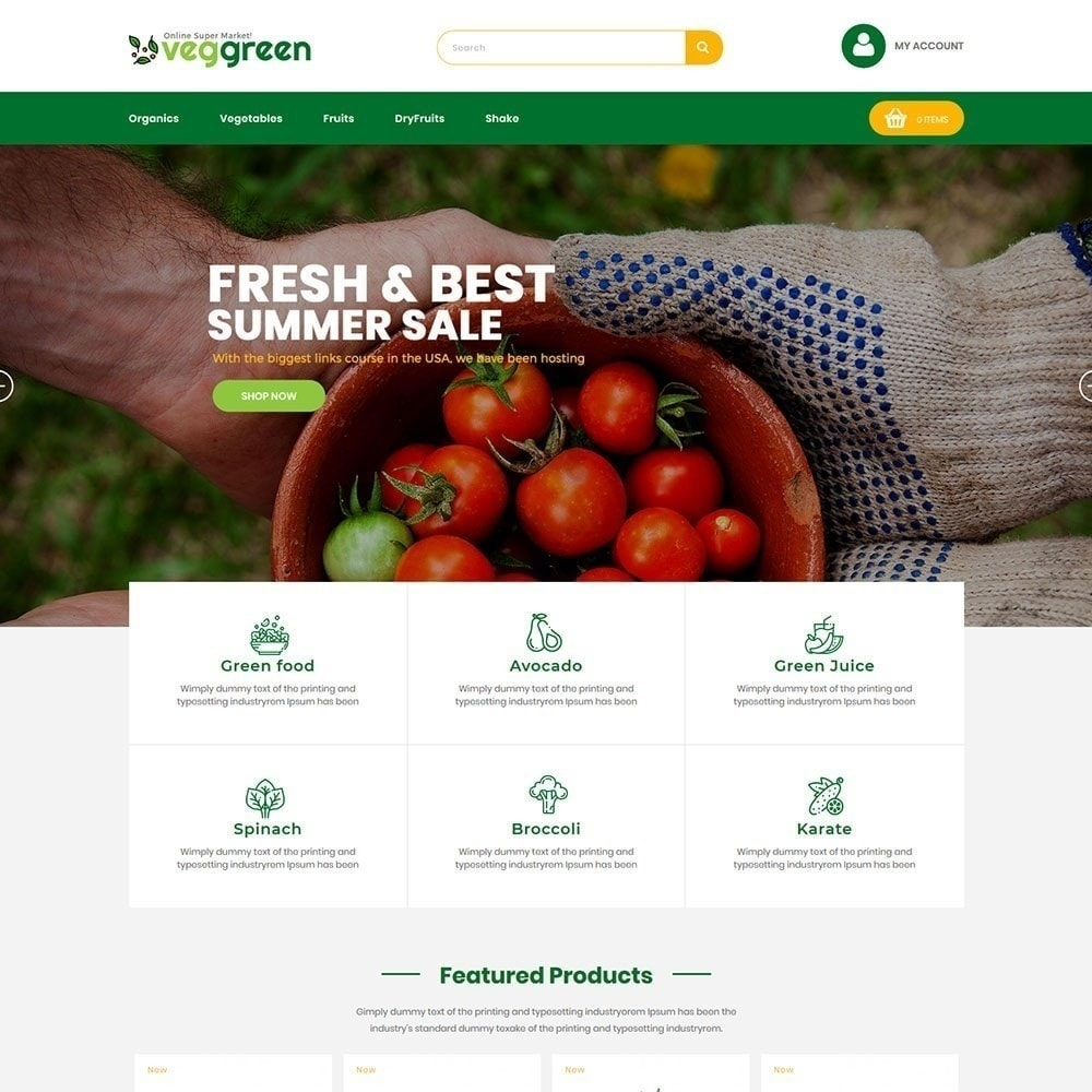 Veggreen Food Store