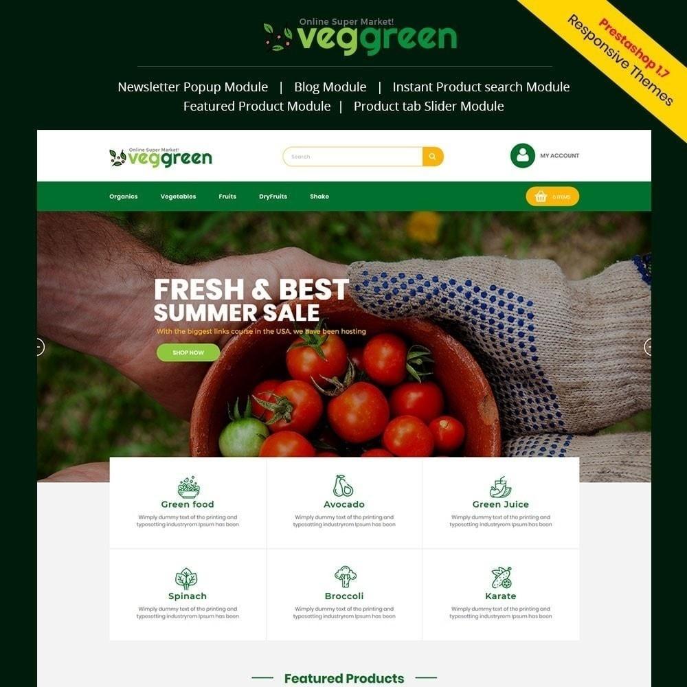 Tienda de comida Veggreen