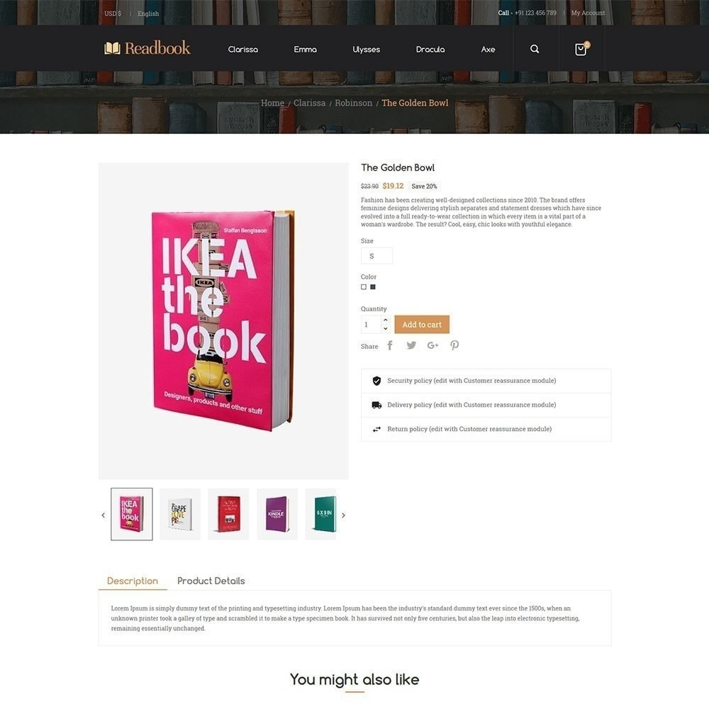 theme - Arte y Cultura - Libro de lectura - Librería - 4