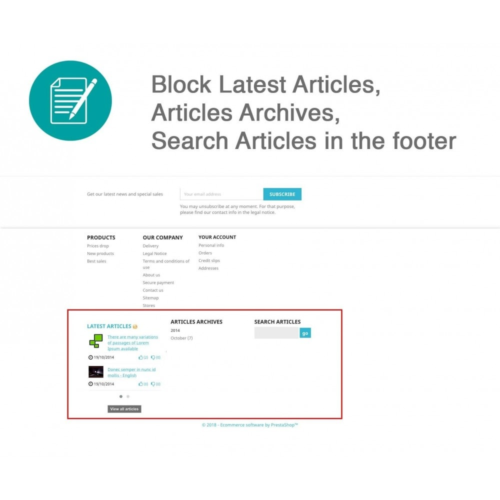 module - Blog, Fórum & Notícias - Articles Advanced + Google Rich Snippets - 8