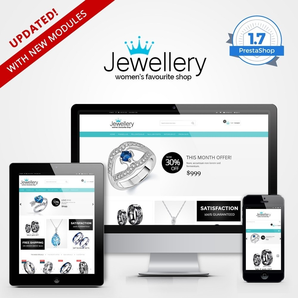 theme - Jewelry & Accessories - Jewellery Multipurpose HTML5 - 1