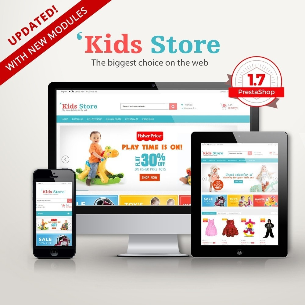 Kids Store Multipurpose RFX0012