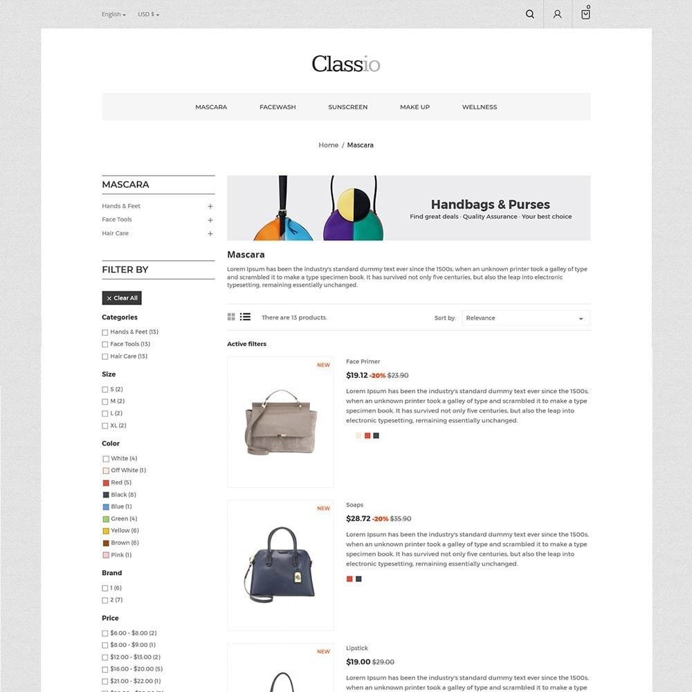 theme - Moda & Calçados - Classio Bag - Loja de Moda - 6