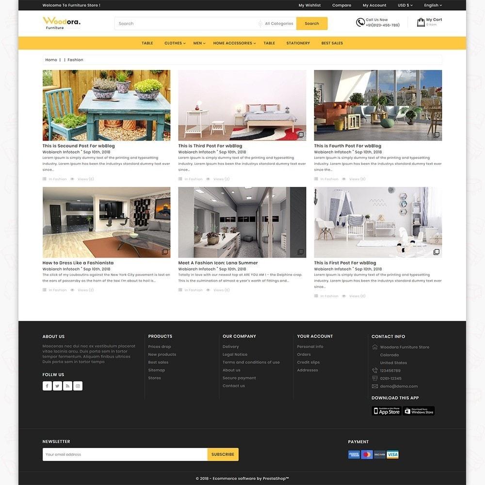 theme - Home & Garden - Woodora The Best Furniture Store - 6