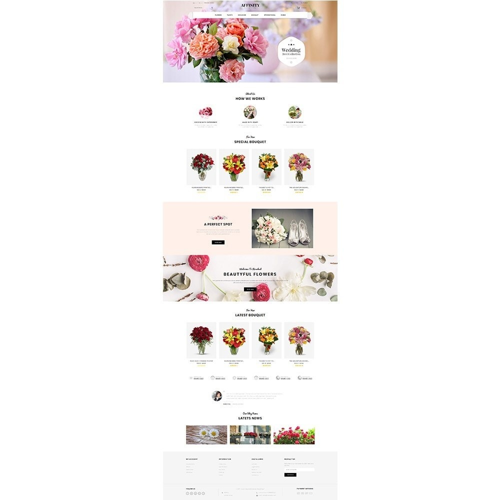 theme - Gifts, Flowers & Celebrations - Affinity Flower Store - 2