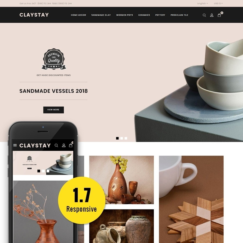 theme - Art & Culture - Claystay Store - 1