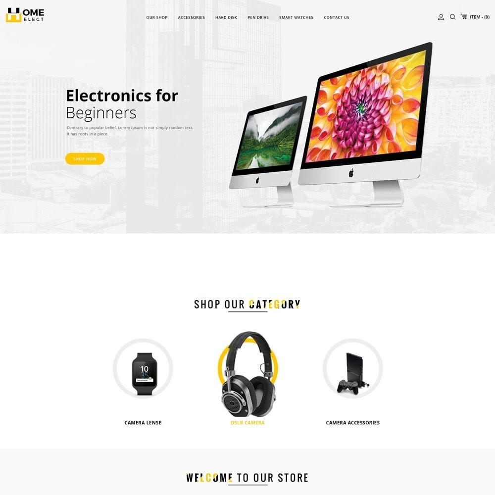 Homeelect - The Electronic Store