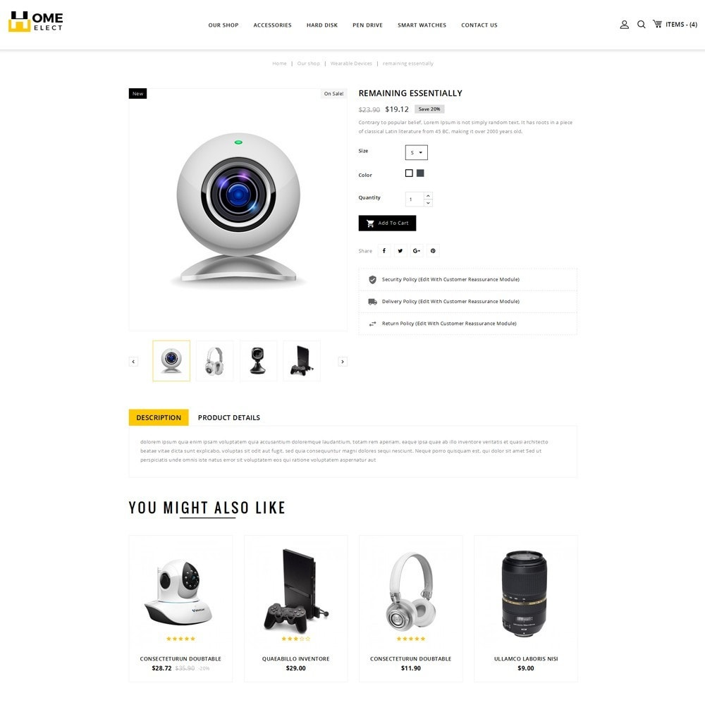 theme - Electronics & Computers - Homeelect - The Electronic Store - 6