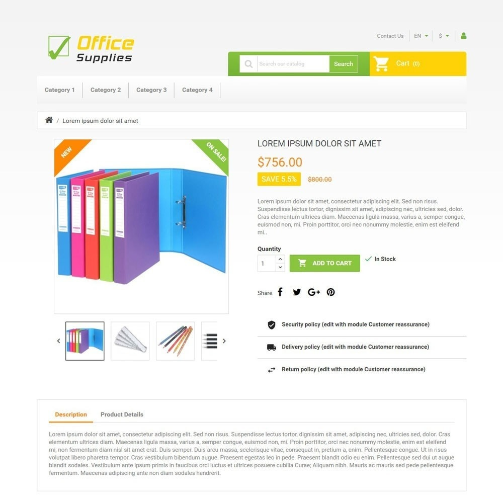 theme - Arte e Cultura - OfficeSupplies - 3