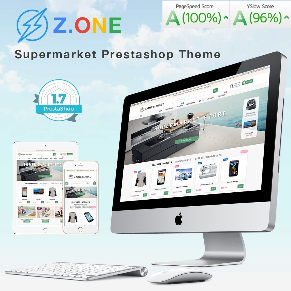 ZOne - Supermarket Online Shop
