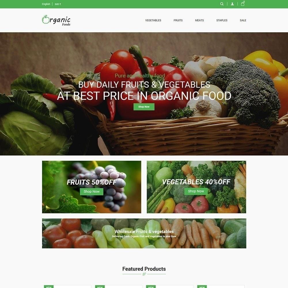 Bio-Lebensmittelgeschäft
