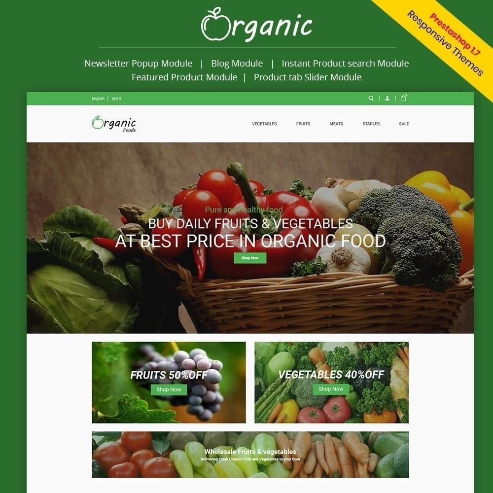 theme - Cibo & Ristorazione - Negozio di alimenti biologici - 2
