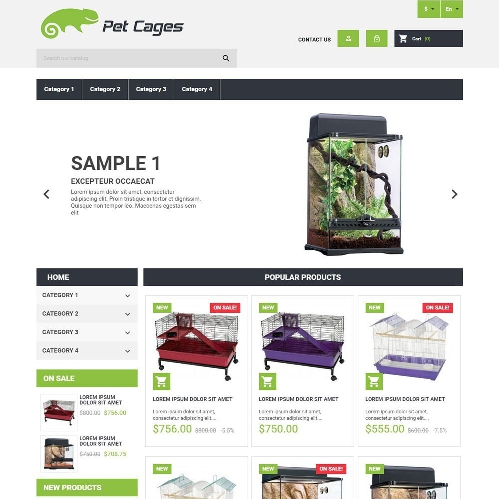 theme - Animales y Mascotas - PetCages - 1