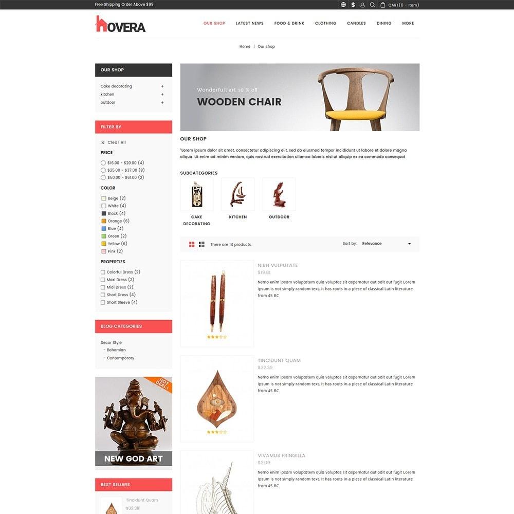 theme - Home & Garden - Hovera - The Home Decor - 4