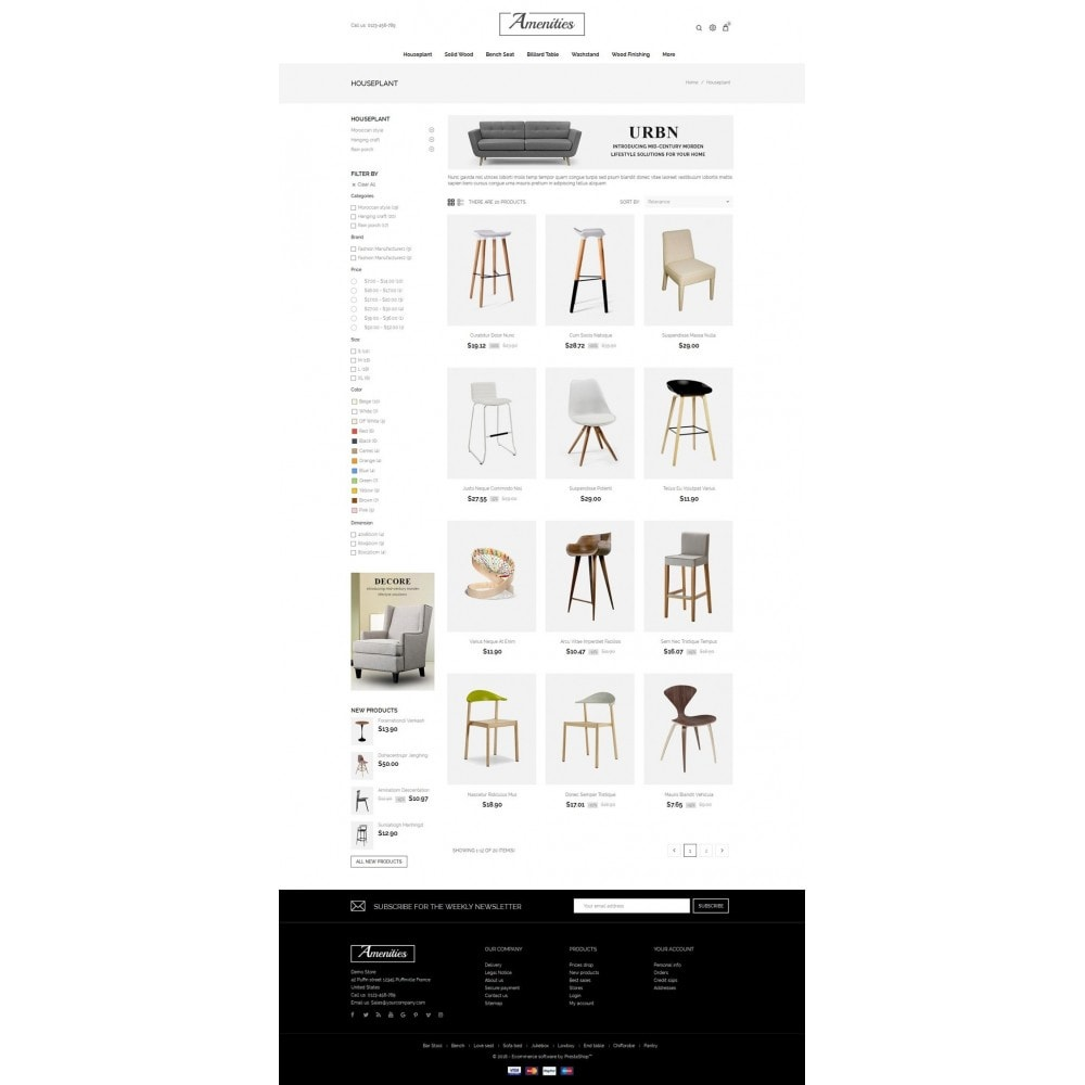 Amenities - Furniture Store