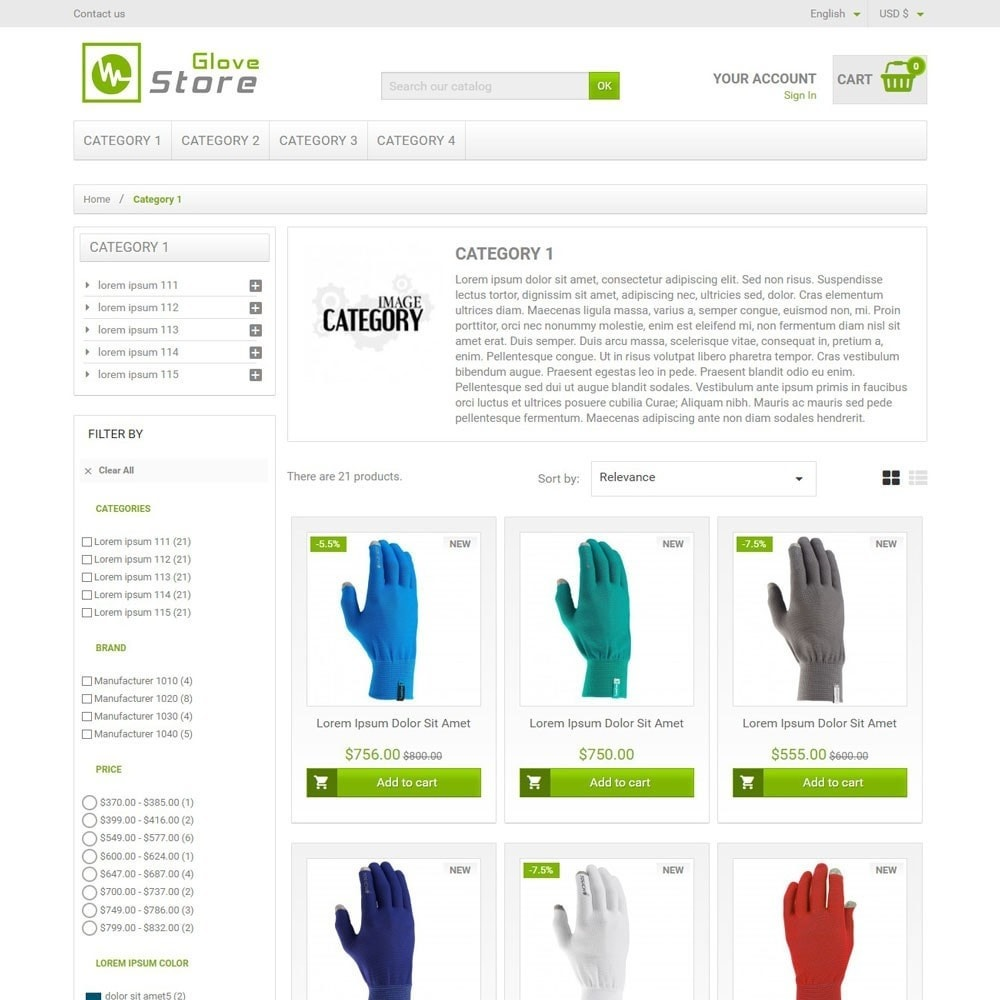 GloveStore