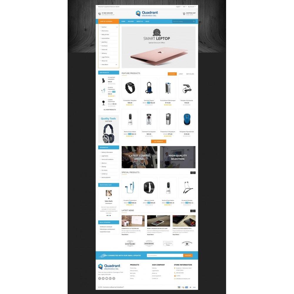 Quadrant - Electronic Store