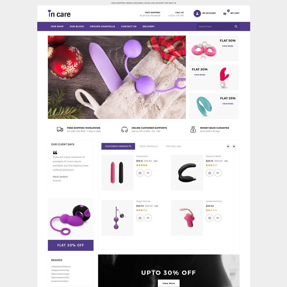 Incare - The Adult Shop