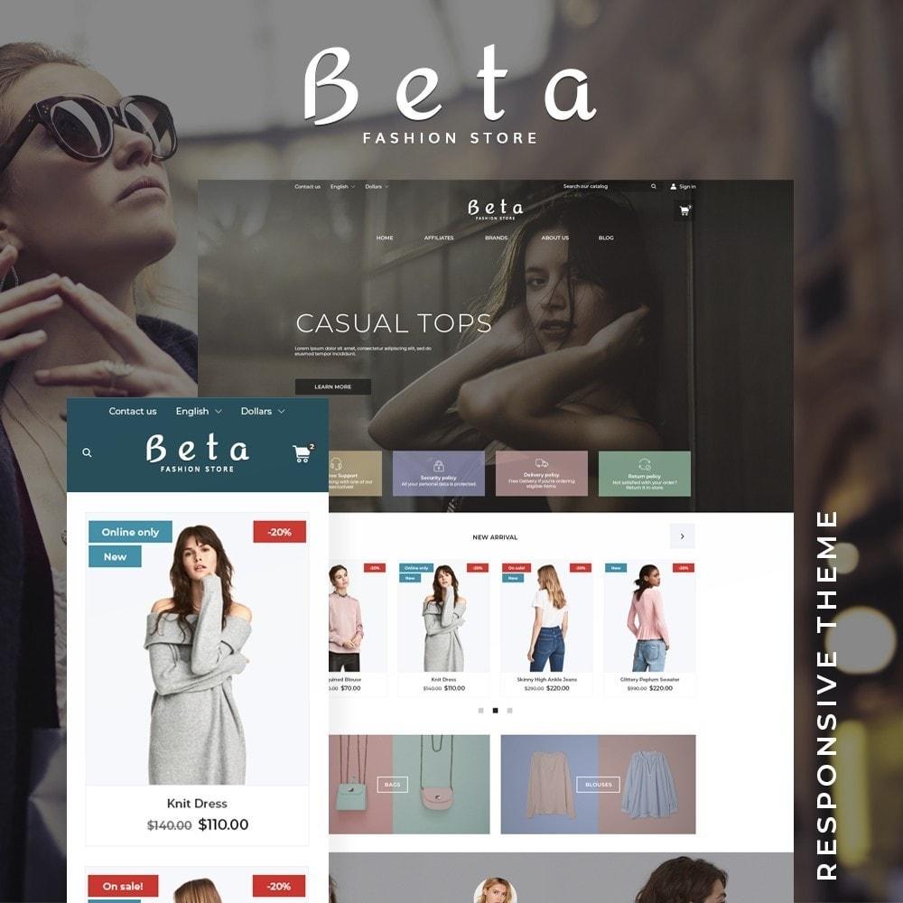 theme - Fashion & Shoes - Beta Fashion Store - 1