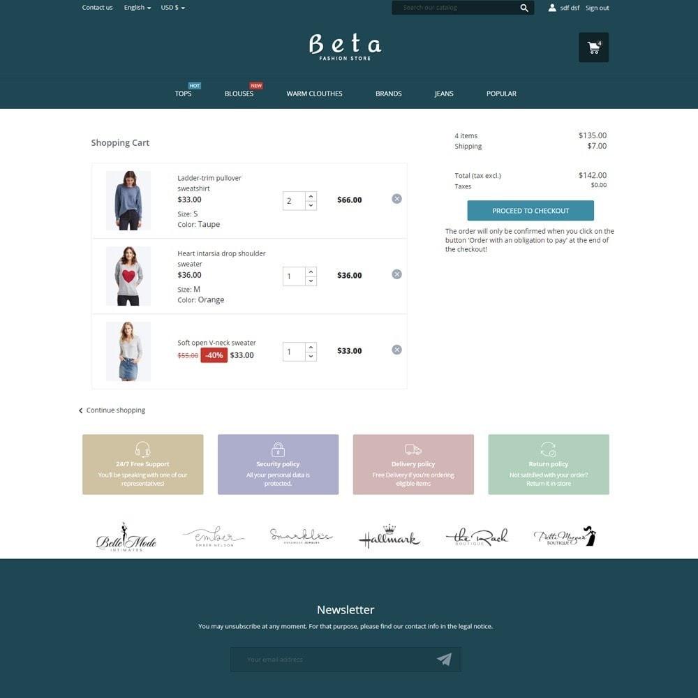 theme - Fashion & Shoes - Beta Fashion Store - 7