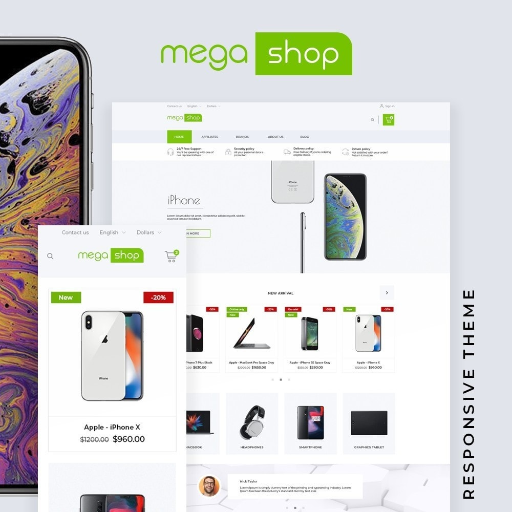 MegaShop - High-tech Shop