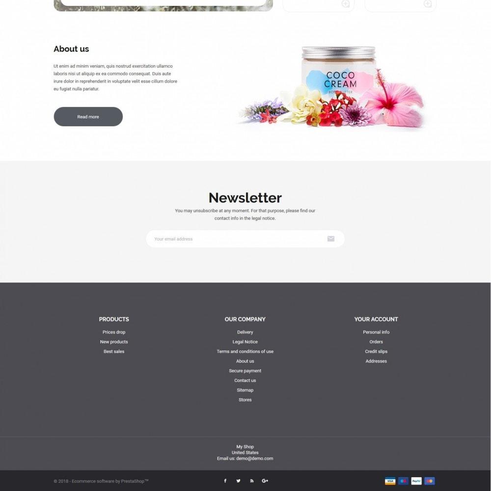 theme - Health & Beauty - Wild rose Cosmetics - 4