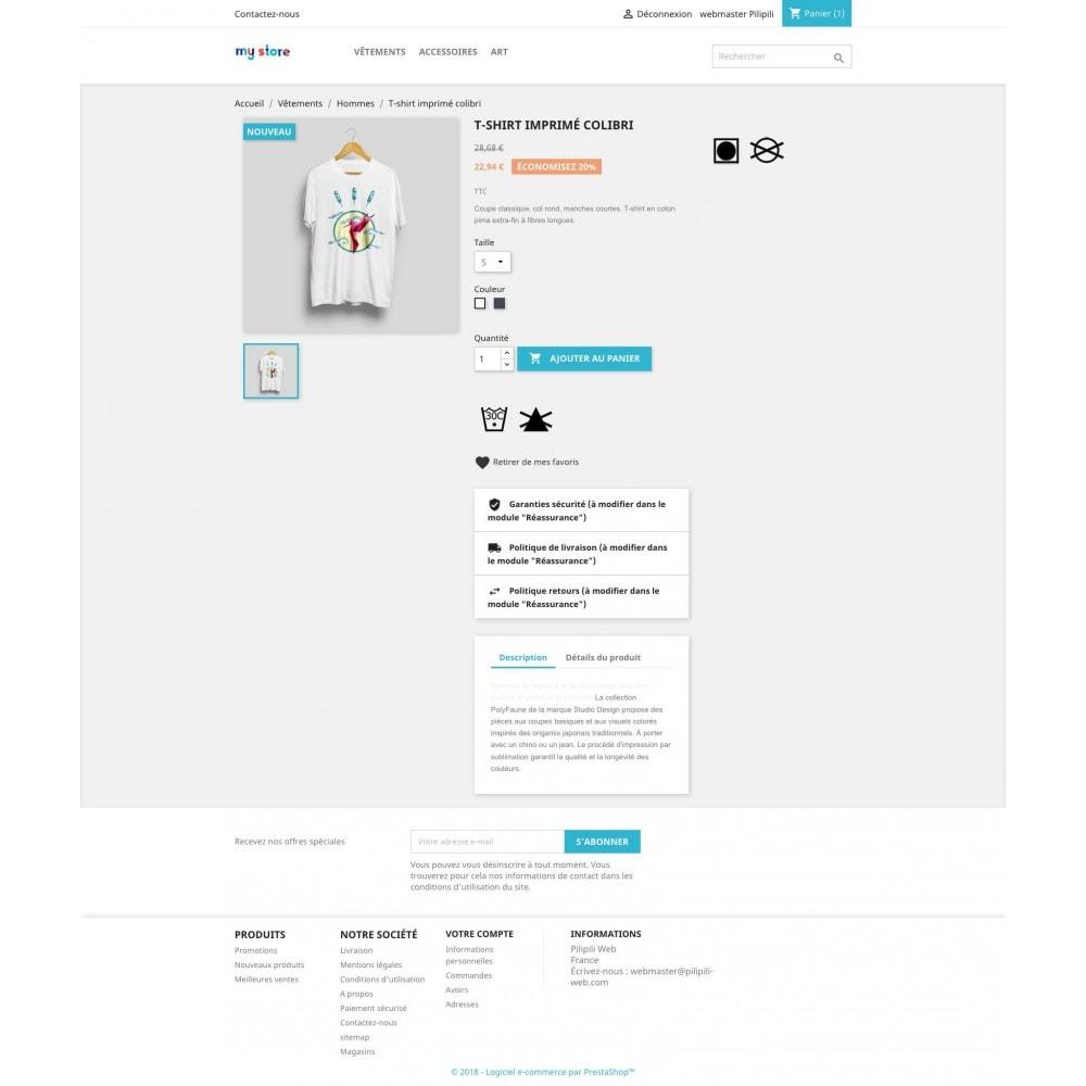 module - Information supplémentaire & Onglet produit - Liste de vos produits favoris / wishlist - 7