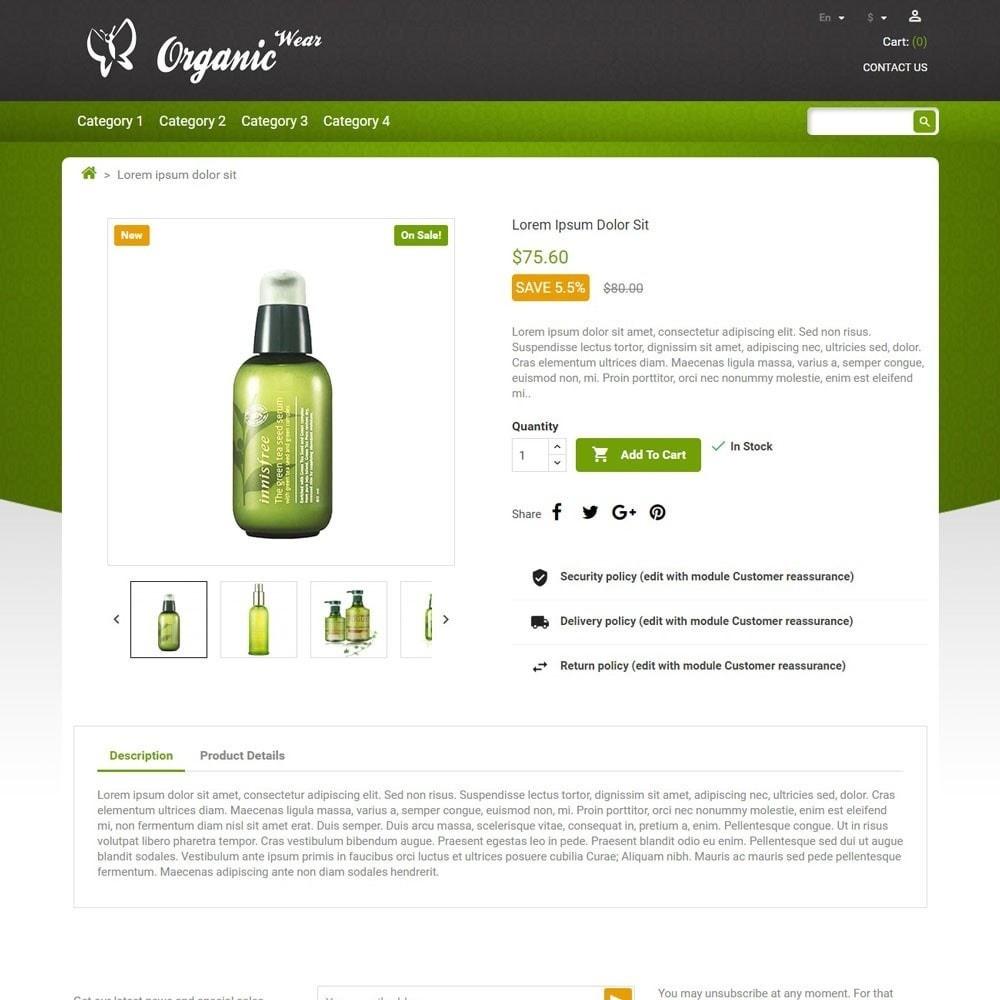 theme - Gesundheit & Schönheit - OrganicWear - 3