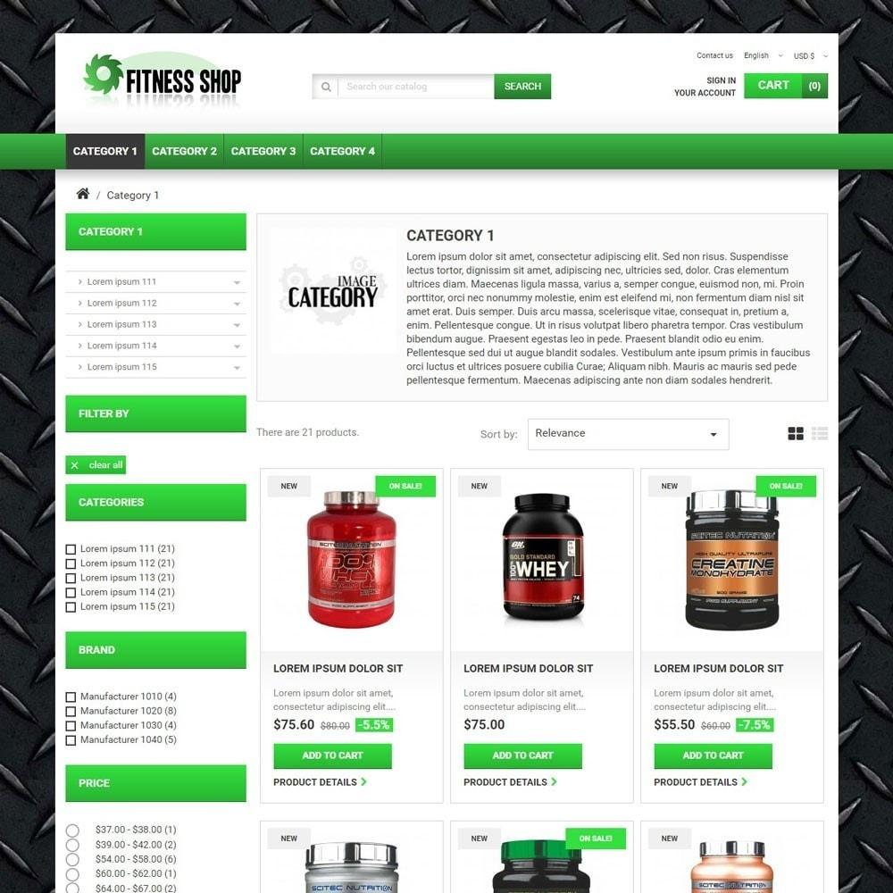 theme - Sport, Activiteiten & Reizen - FitnessShop - 2