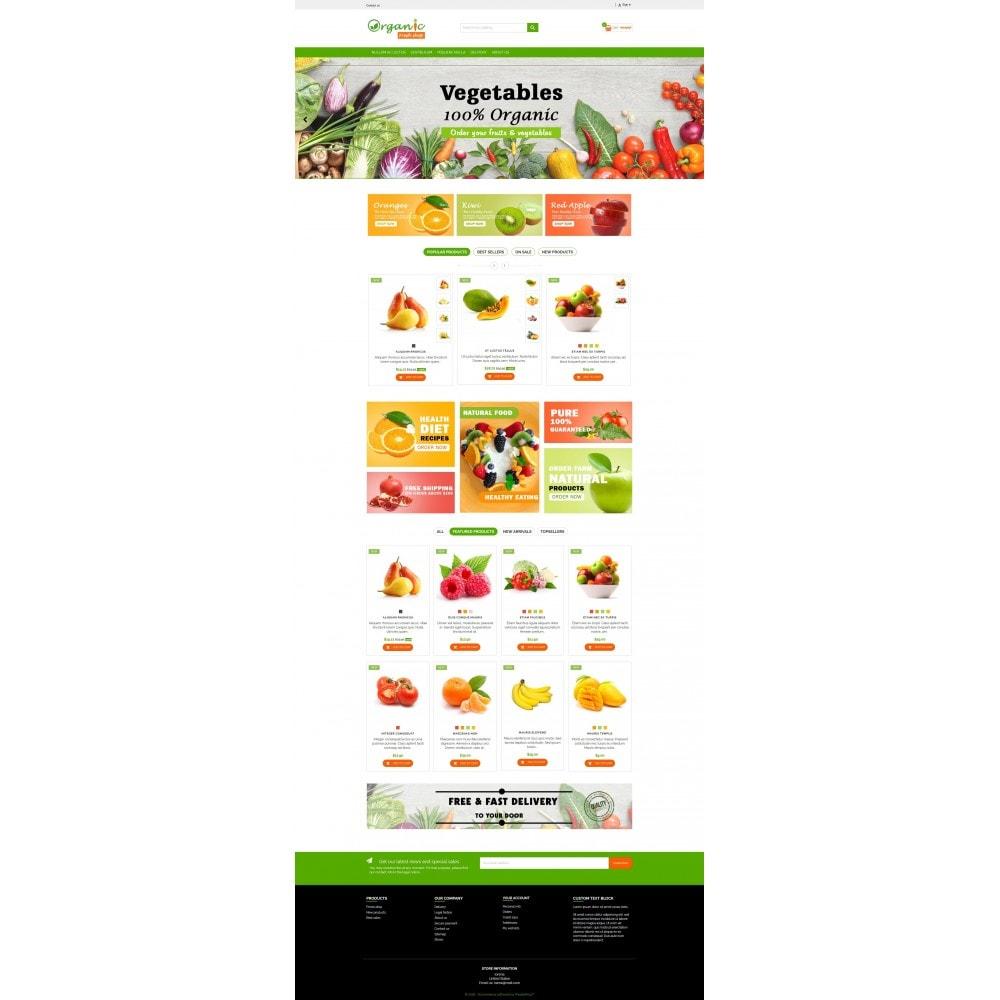 Organic Fresh Naturals Multipurpose HTML5