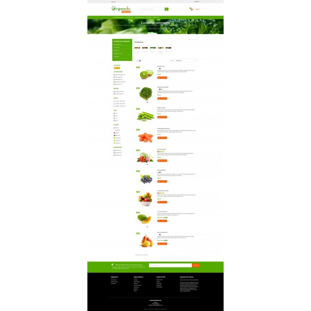 theme - Eten & Restaurant - Organic Fresh Naturals Multipurpose HTML5 - 7