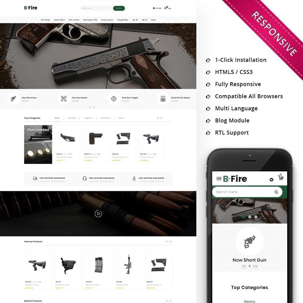 theme - Auto & Moto - Bfire Gun & Tools Store - 1
