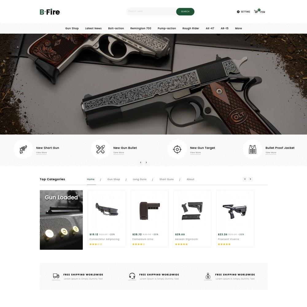 theme - Auto & Moto - Bfire Gun & Tools Store - 2