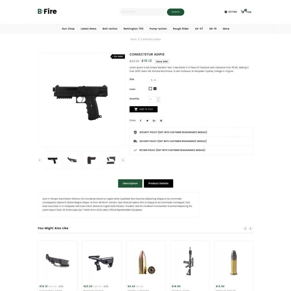theme - Auto & Moto - Bfire Gun & Tools Store - 6