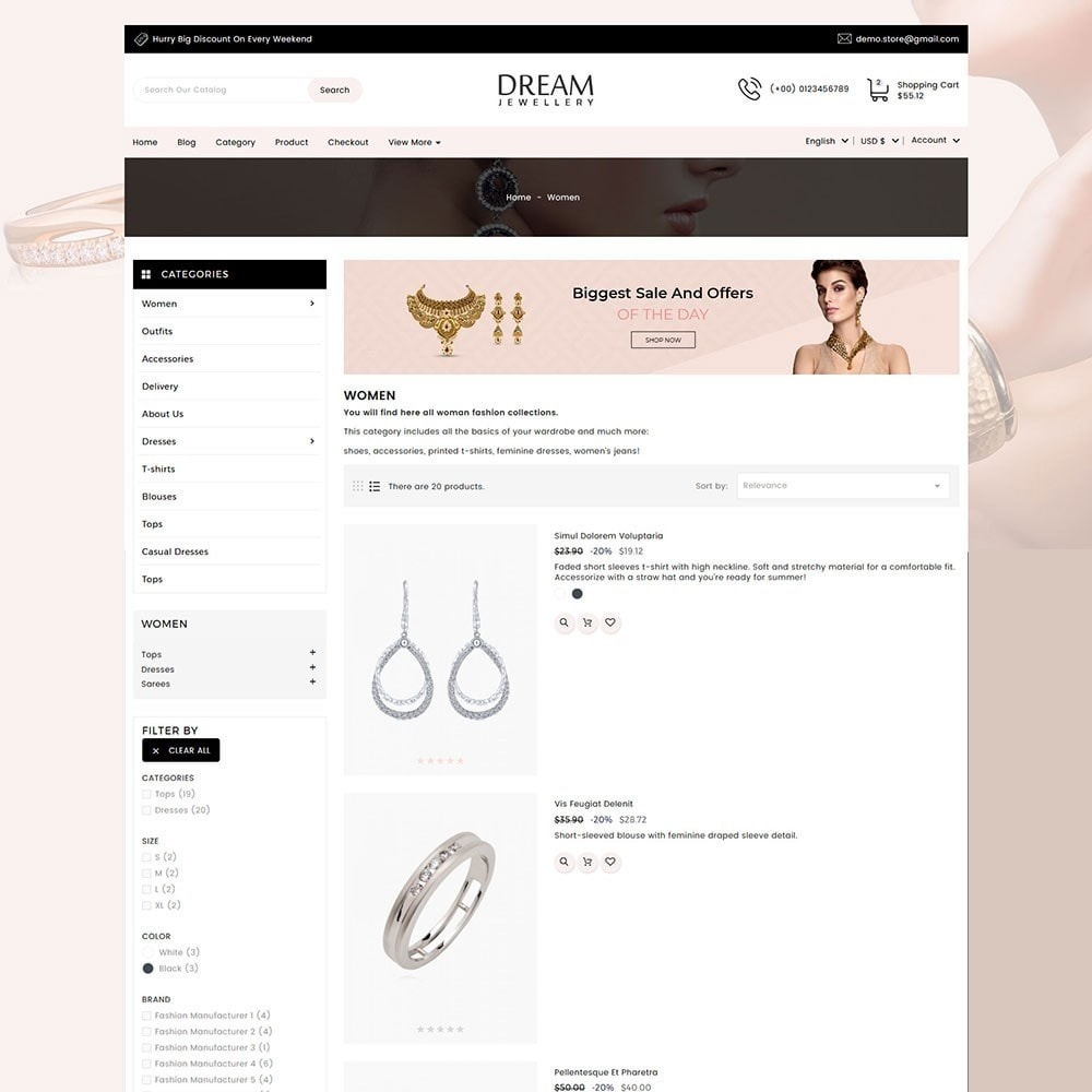 theme - Bellezza & Gioielli - Dream Jewellery - 6