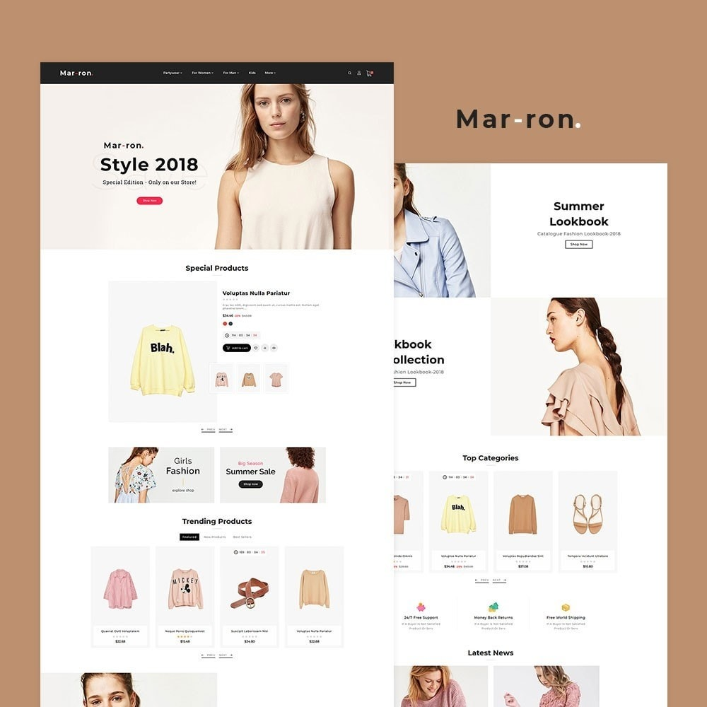 Marron Fashion Trends