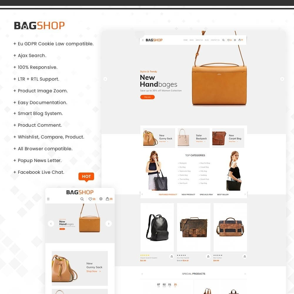 Bagshop - The Bag Store