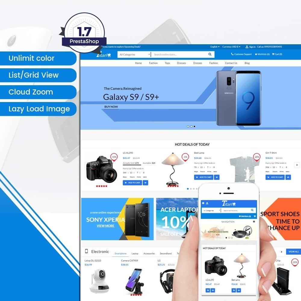 theme - Elettronica & High Tech - Titan Market - 1