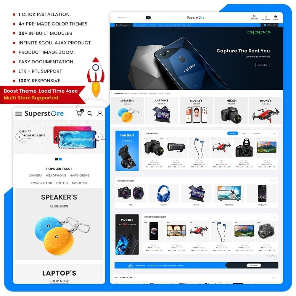 theme - Electronics & Computers - Super Store – Electronic Large Shop - 1