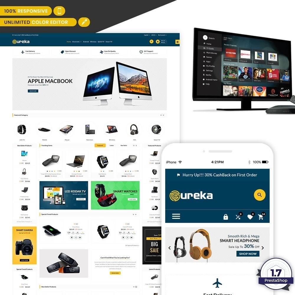 Ureka - Electronic Minimal Shop