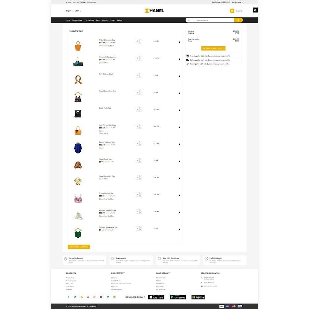 theme - Home & Garden - Chanel - Stylish Fashion Cloth Shop - 4
