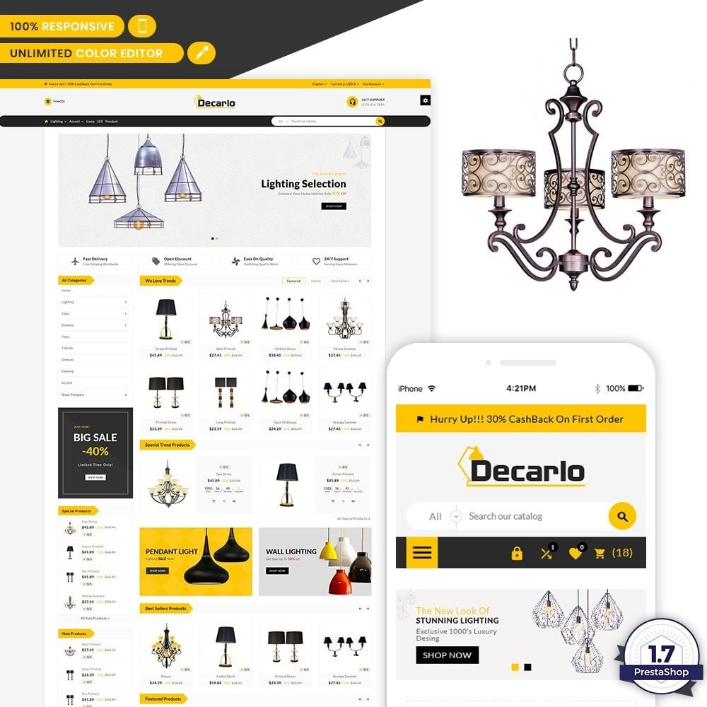 Decorelo - Lighting Shop