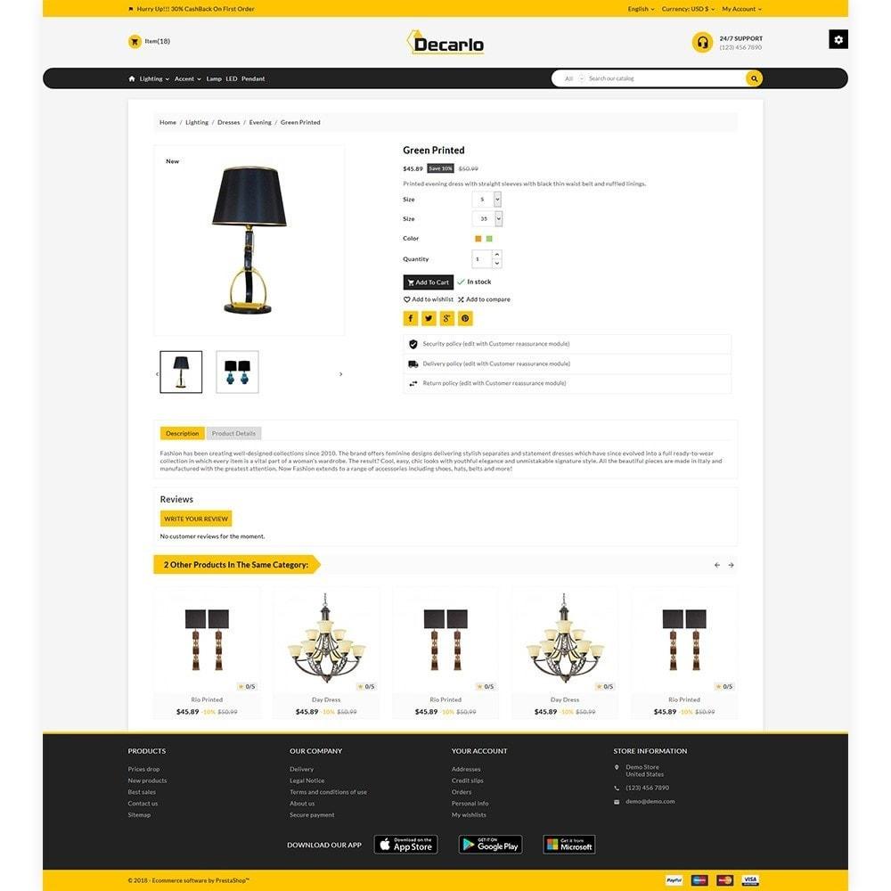 theme - Home & Garden - Decorelo - Lighting Shop - 5