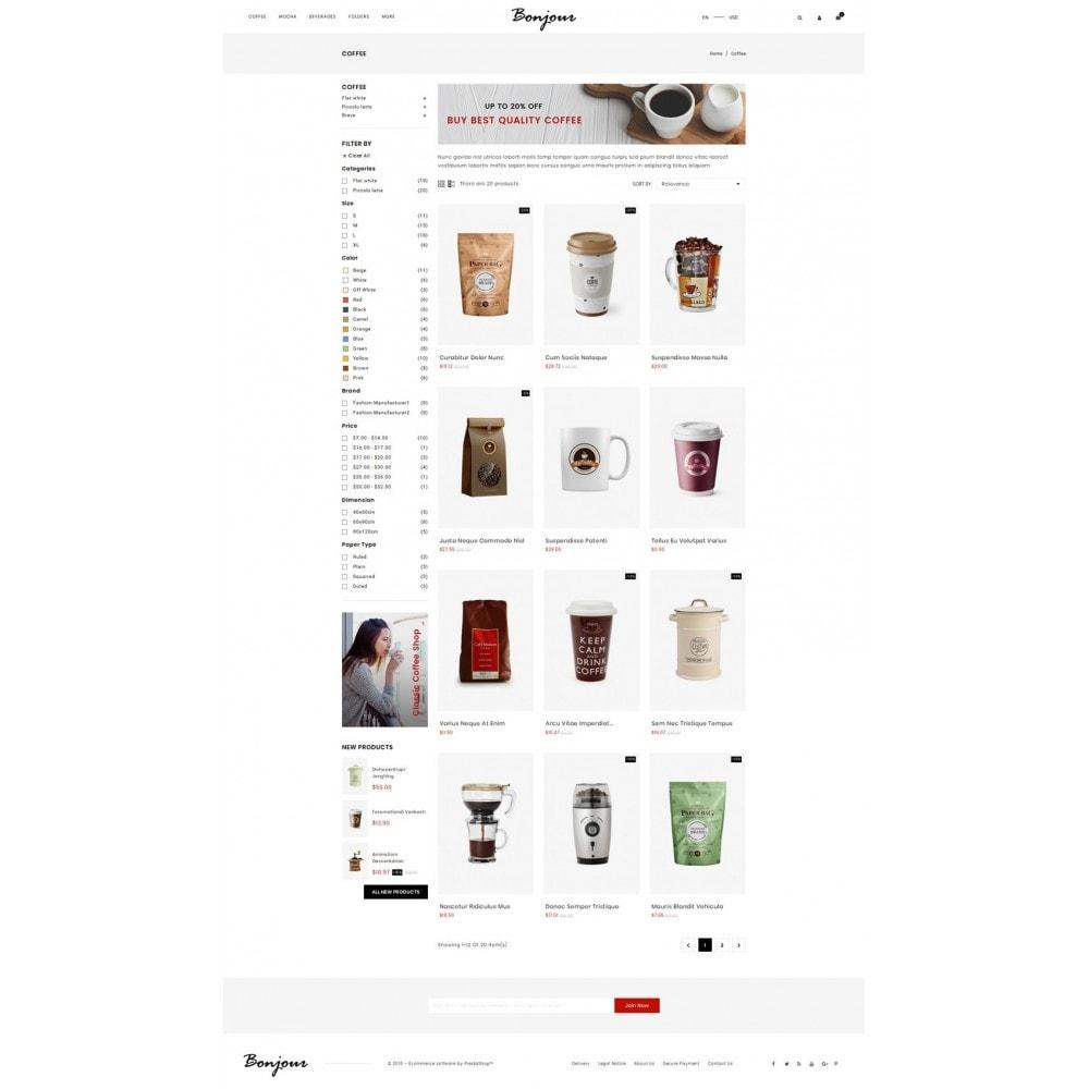 theme - Cibo & Ristorazione - Bonjour - Coffee Store - 3