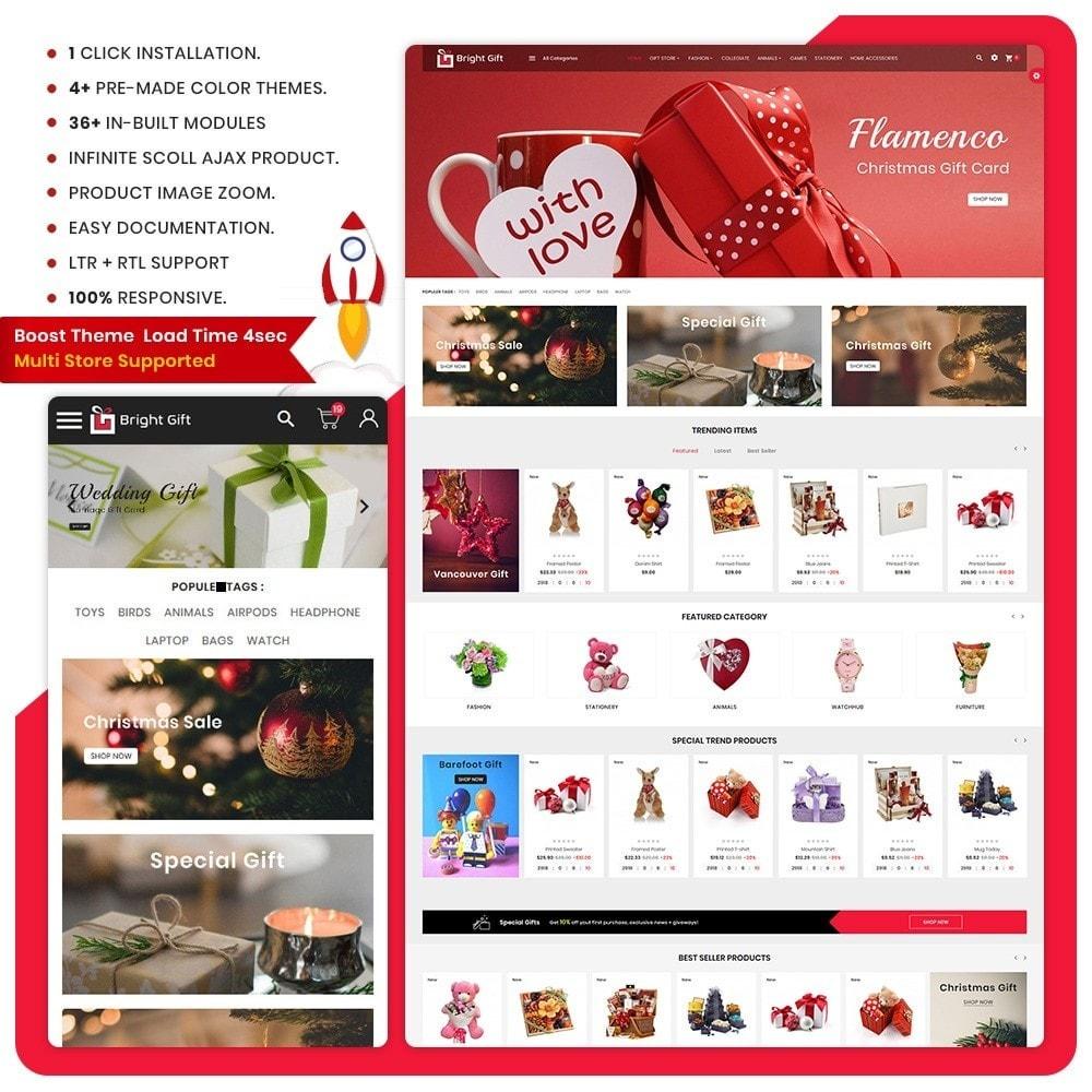 theme - Presentes, Flores & Comemorações - Bright Gift – Gift Super Store - 1